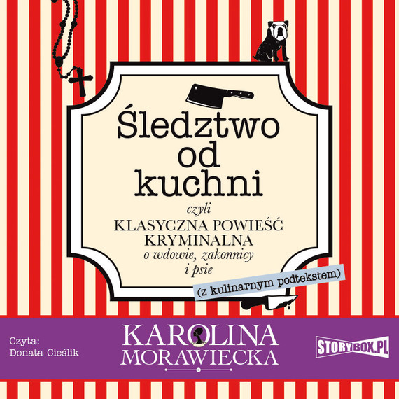 okładka Śledztwo od kuchni, Audiobook | Karolina Morawiecka
