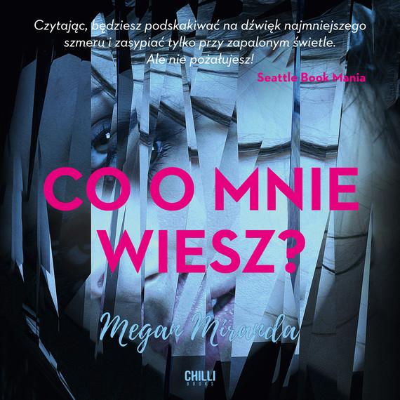 okładka Co o mnie wiesz?, Audiobook   Miranda Megan