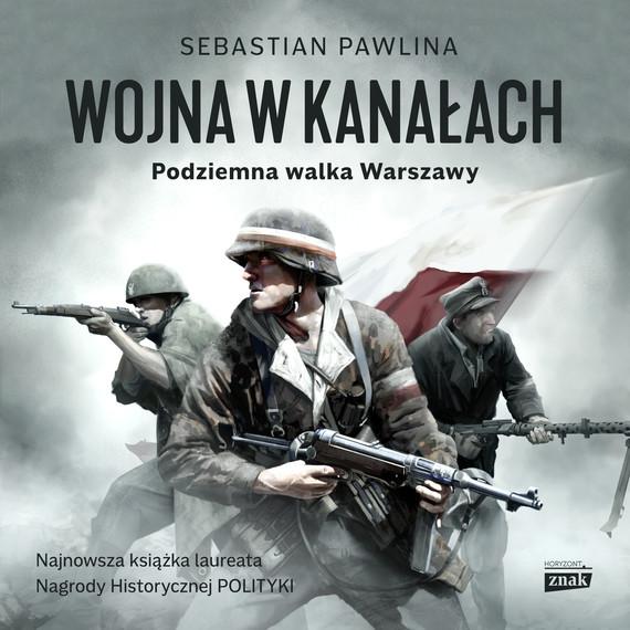 okładka Wojna w kanałachaudiobook   MP3   Pawlina Sebastian