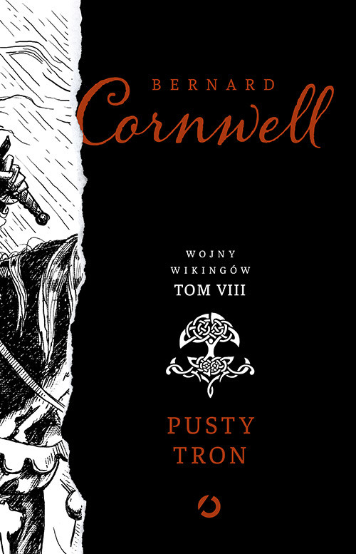 okładka Pusty tron.Tom 8, Książka | Cornwell Bernard