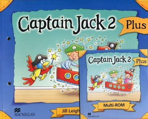 okładka Captain Jack 2 Plus Podręcznik z płytą CD, Książka |