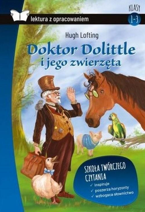 okładka Doktor Dolittle Lektura z opracowaniem, Książka | Hugh Lofting