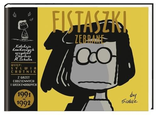 okładka Fistaszki zebrane 1991-1992, Książka   Charles M. Schulz