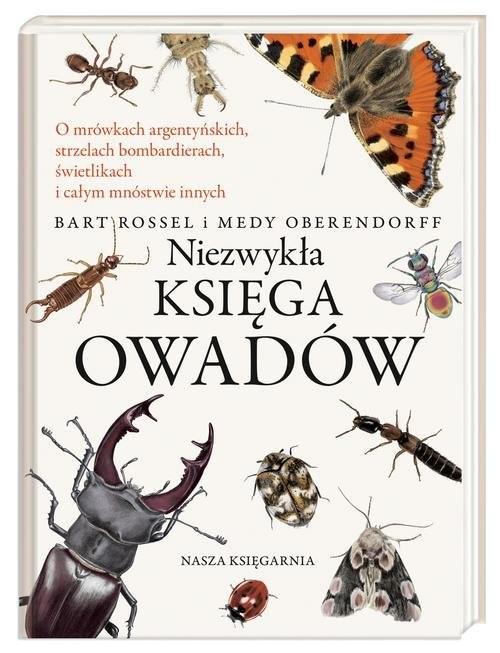 okładka Niezwykła księga owadów, Książka | Rossel Bart