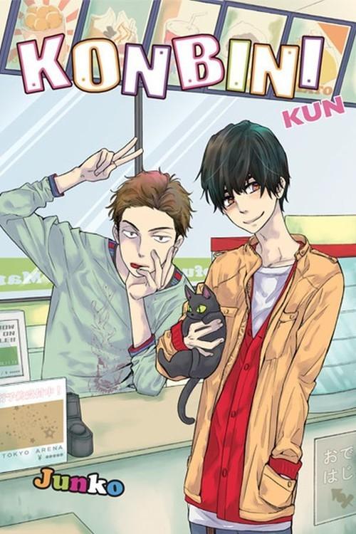 okładka Konbini-kun, Książka | Junko