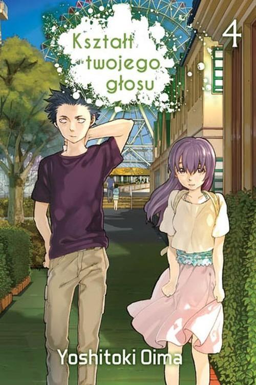 okładka Kształt twojego głosu 4, Książka | Oima Yoshitoki