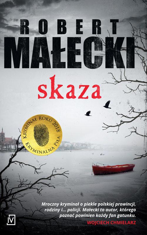 okładka Skaza, Książka | Małecki Robert