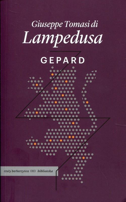okładka Gepardksiążka      Giuseppe Tomasi di Lampedusa