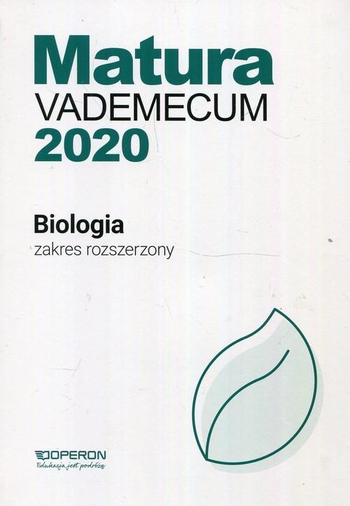okładka Matura 2020 Biologia Vademecum Zakres rozszerzony Szkoła ponadgimnazjalna, Książka | Laura Betleja, Tomasz Falkowski, Beat Jakubik