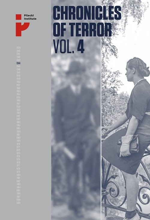 okładka Chronicles of Terror VOL. 4 German atrocities in Śródmieście during the Warsaw Uprising, Książka |