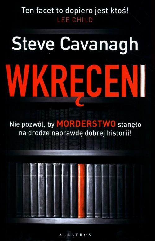 okładka Wkręceni, Książka | Cavanagh Steve