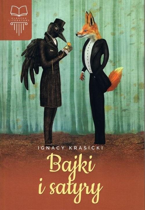 okładka Bajki i satyry, Książka | Krasicki Ignacy
