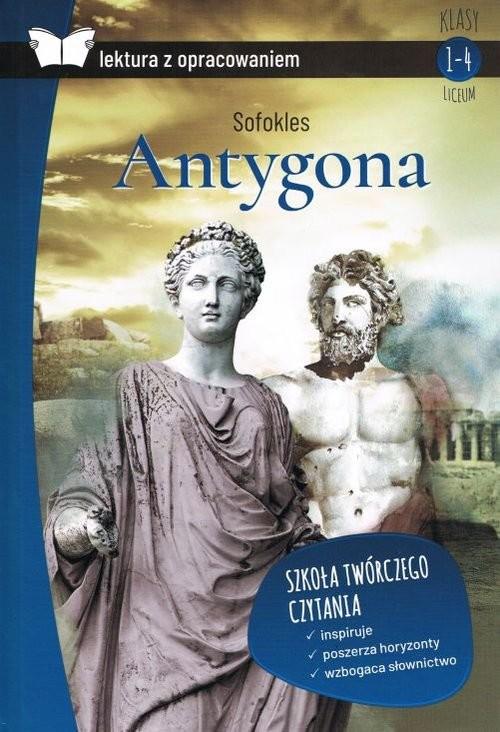 okładka Antygona z opracowaniem, Książka | Sofokles