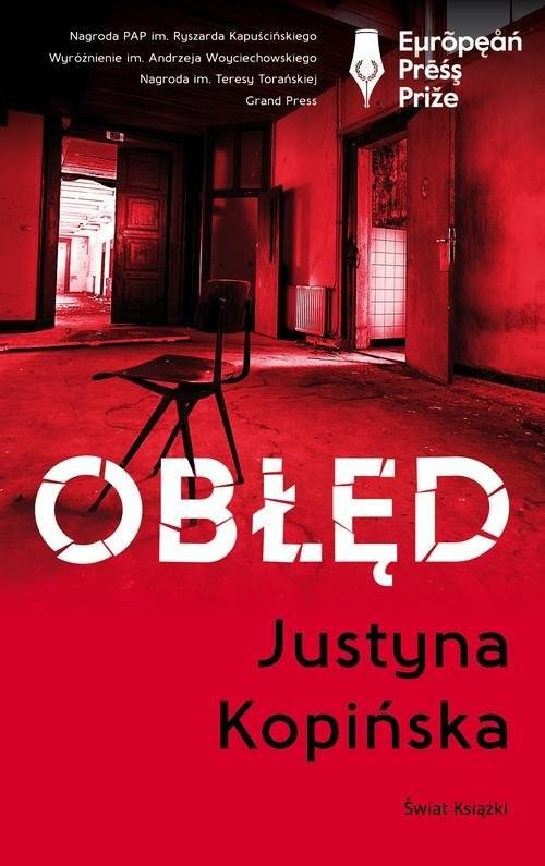 okładka Obłęd, Książka | Kopińska Justyna
