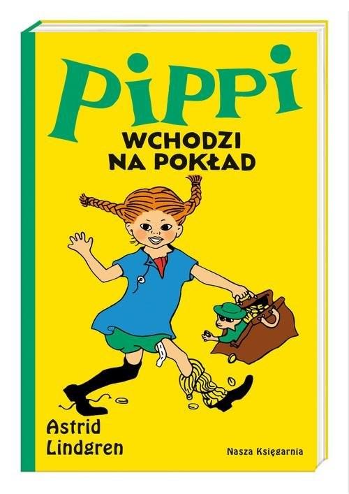 okładka Pippi wchodzi na pokładksiążka |  | Lindgren Astrid