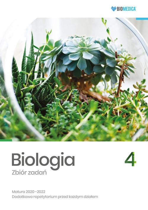 okładka Biologia Zbiór zadań Matura 2020-2022 Tom 4, Książka | Jacek Mieszkowicz, Maksymilian Ogiela, M Bryś