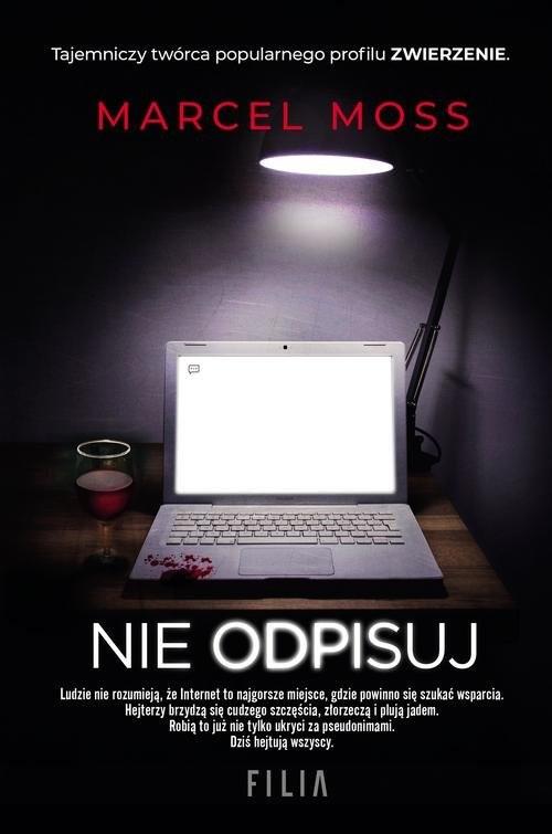 okładka Nie odpisuj, Książka | Moss Marcel