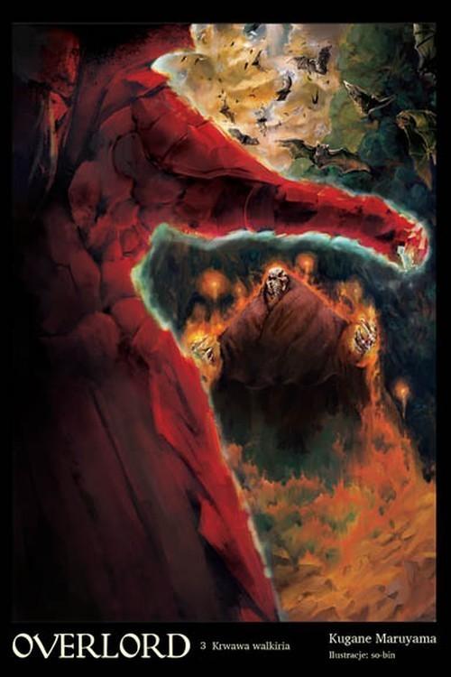 okładka Overlord 3 Krwawa walkiria, Książka |