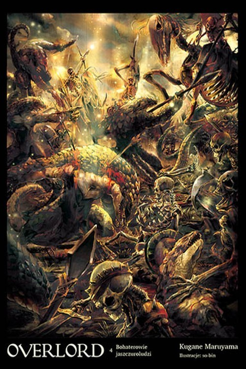 okładka Overlord 4 Bohaterowie jaszczuroludzi, Książka | Maruyama Kugane