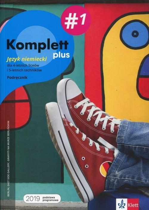 okładka Komplett plus 1 Język niemiecki Podręcznik wieloletni z płytą CD Szkoła ponadpodstawowa. Liceum i technikumksiążka |  | Gabriella Montali, Daniela Mandelli, Czernoho