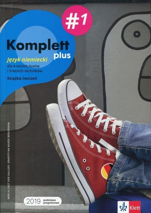 okładka Komplett plus 1 Książka ćwiczeń + DVD + CD Szkoła ponadpodstawowa. Liceum i technikum, Książka | Gabriella Montali, Daniela Mandelli, Czernoho