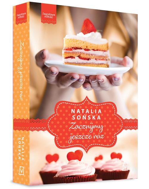 okładka Jagodowa miłość Tom 3 Zacznijmy jeszcze raz, Książka   Sońska Natalia