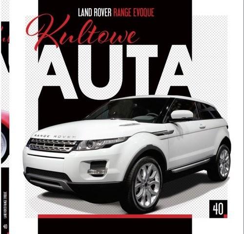 okładka Kultowe Auta Tom 40 Land Rover - Range Evoque, Książka |