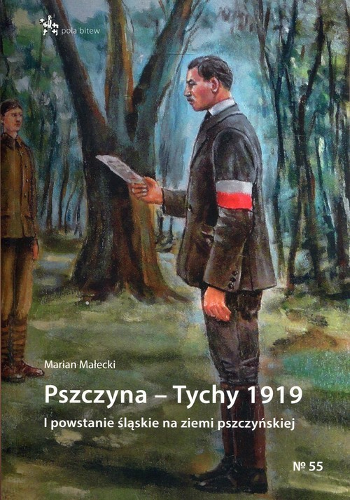 okładka Pszczyna - Tychy 1919 I powstanie śląskie na ziemi pszczyńskiej, Książka | Małecki Marian