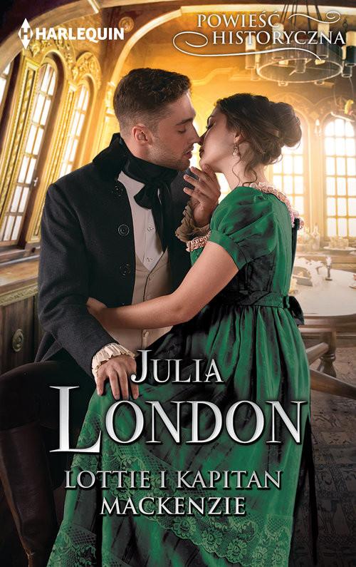 okładka Lottie i kapitan Mackenzie, Książka | London Julia