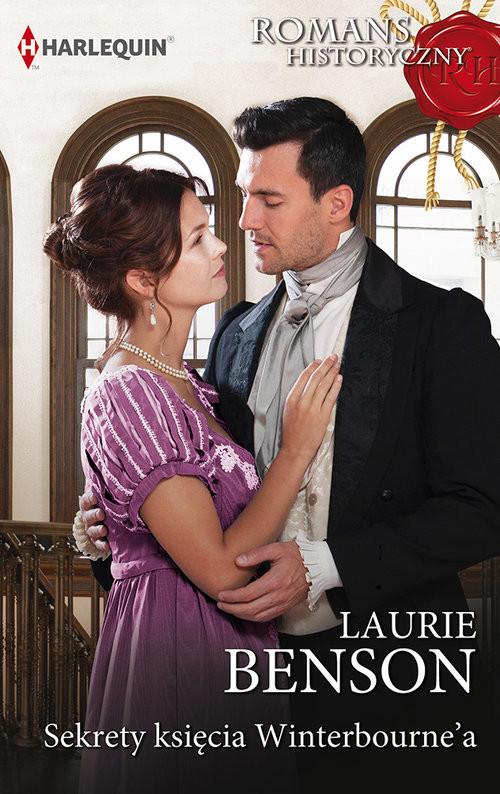okładka Sekrety księcia Winterbourne'a, Książka | Benson Laurie