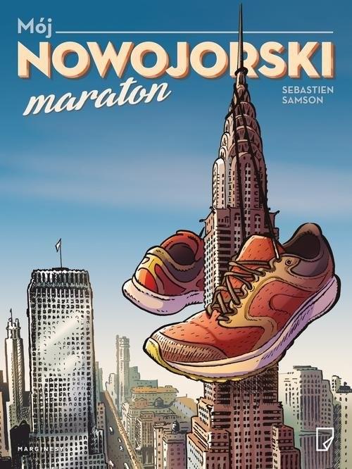 okładka Mój nowojorski maraton, Książka | Samson Sebastien