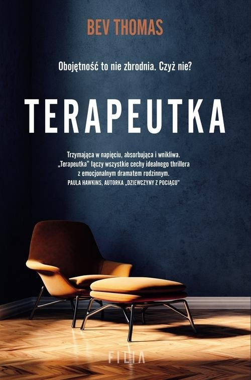 okładka Terapeutka, Książka | Thomas Bev