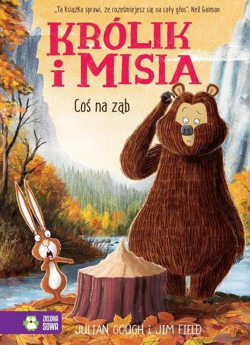 okładka Królik i Misia Coś na ząb, Książka | Gough Julian