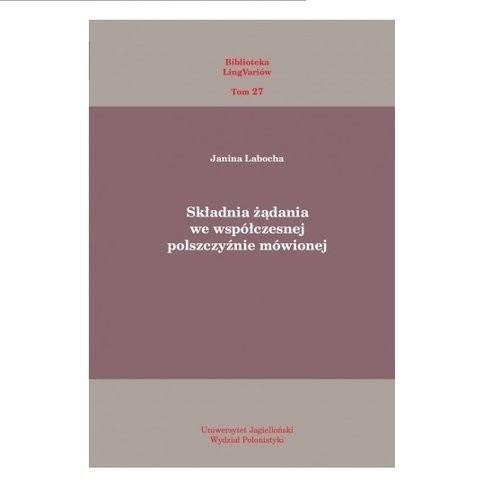 okładka Składnia żądania we współczesnej polszczyźnie mówionej, Książka | Laboda Janina