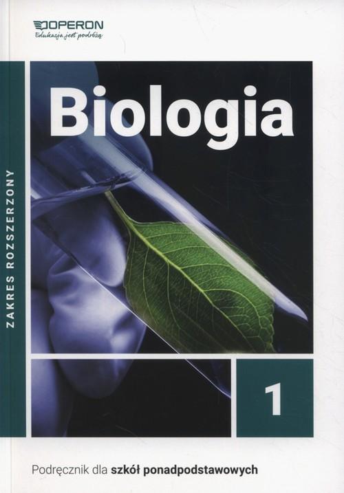 okładka Biologia 1 Podręcznik Zakres rozszerzony Szkoła ponadpodstawowa, Książka | Beata Jakubik, Renata Szymańska