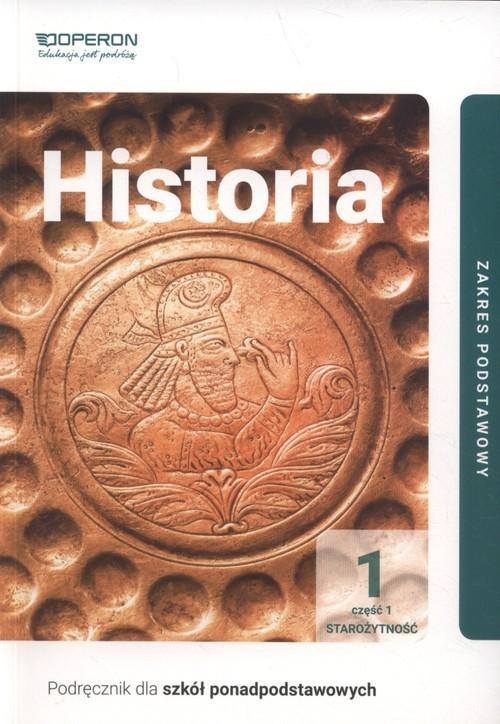 okładka Historia 1 Podręcznik Część 1 Zakres podstawowy Szkoła ponadpodstawowaksiążka |  | Janusz Ustrzycki, Mirosław Ustrzycki