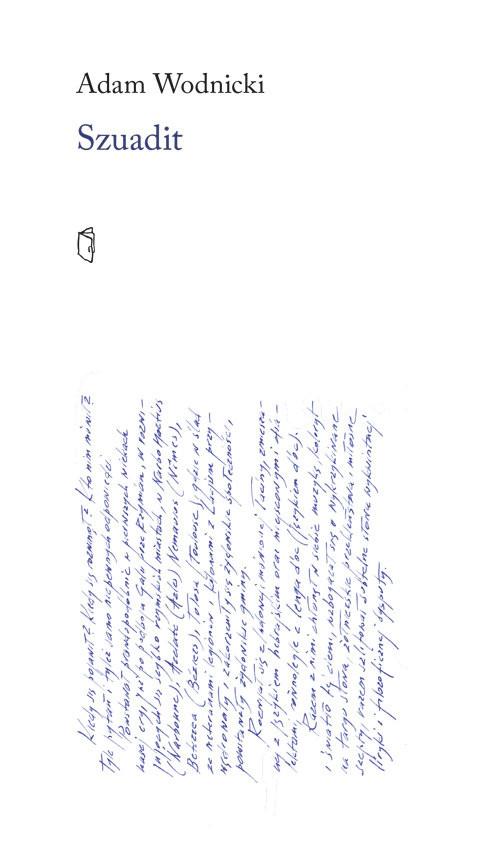 okładka Szuadit, Książka | Wodnicki Adam