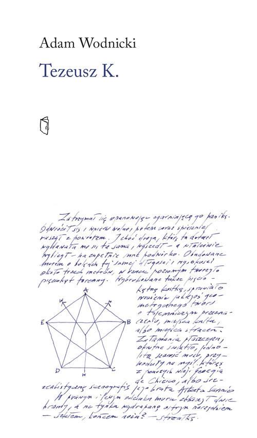 okładka Tezeusz K, Książka | Wodnicki Adam