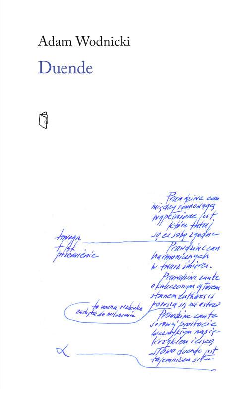 okładka Duende, Książka | Wodnicki Adam