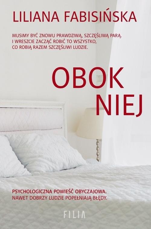okładka Obok niej, Książka | Fabisińska Liliana