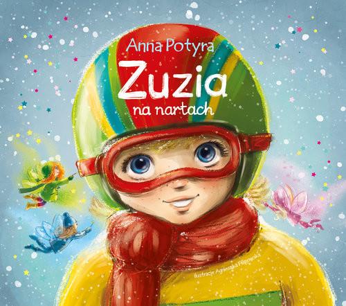 okładka Zuzia na nartach, Książka   Potyra Anna