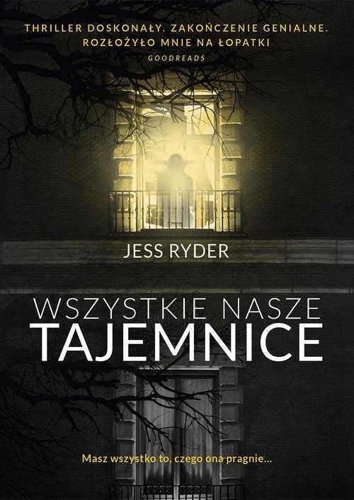 okładka Wszystkie nasze tajemnice, Książka | Ryder Jess