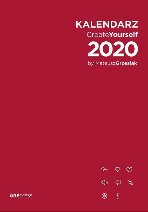 okładka Kalendarz Create Yourself 2020, Książka | Mateusz Grzesiak