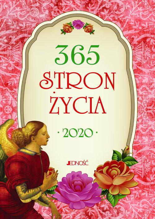 okładka 365 stron życia 2020, Książka | Justyna Wrona, Hubert Wołącewicz, oprac.