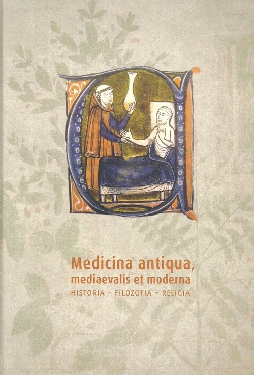okładka Medicina antiqua mediaevalis et moderna Historia Filozofia - religia, Książka |