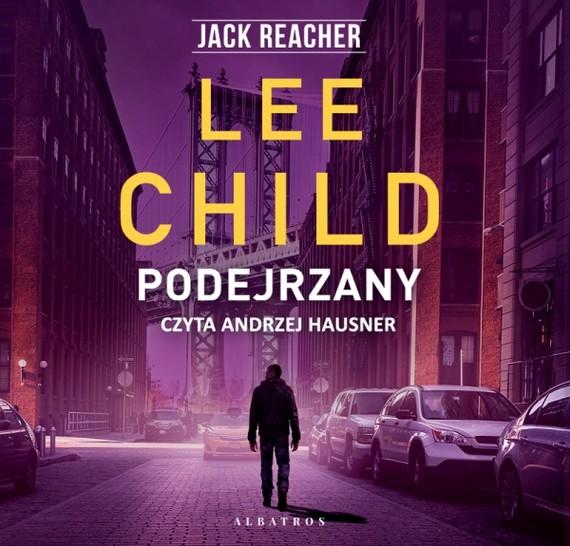 okładka PODEJRZANYaudiobook | MP3 | Lee Child