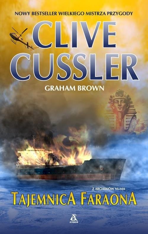 okładka Tajemnica faraona, Książka | Cussler Clive
