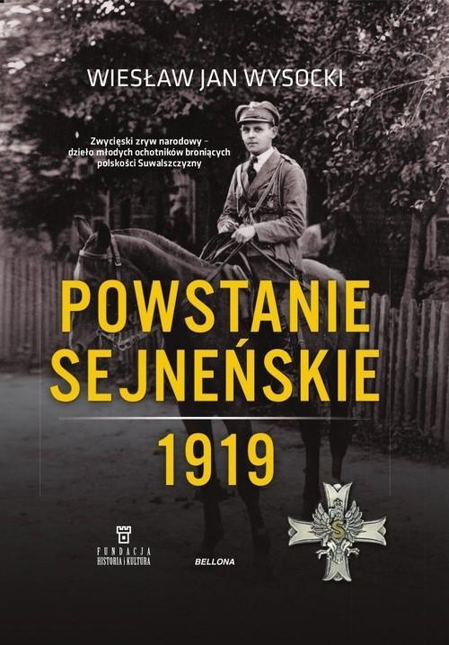 okładka Powstanie sejneńskie 1919, Książka | Wiesław Jan Wysocki