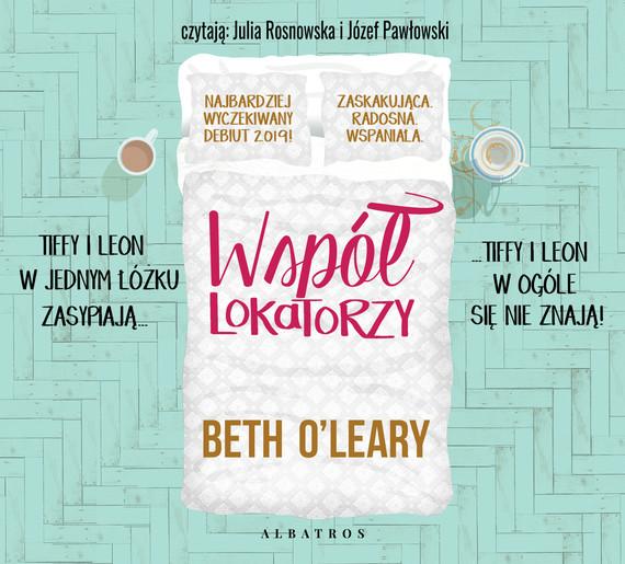 okładka WSPÓŁLOKATORZY, Audiobook | Beth O'Leary