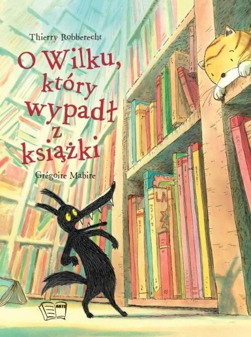 okładka O wilku który wypadł z książki, Książka  